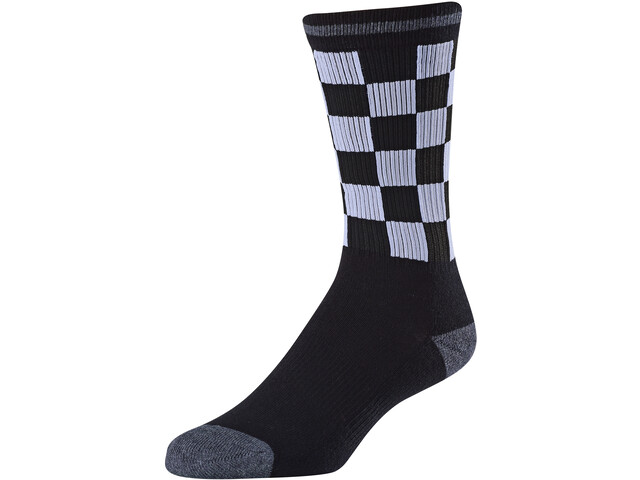 Troy Lee Designs Checker Crew Socks black